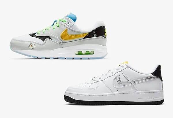 Giày Nike Air Max hoa cúc