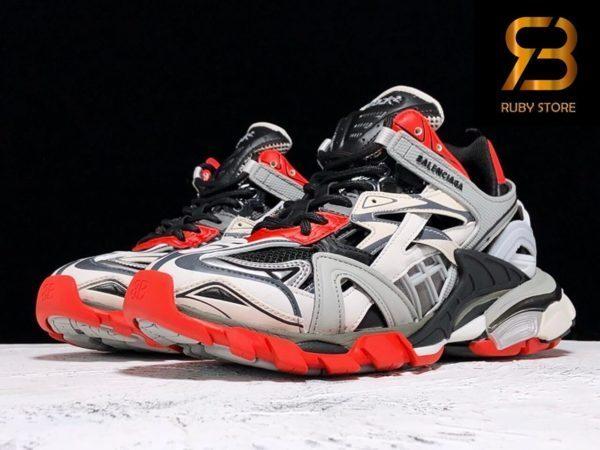 giày balenciaga track 2.0 grey red replica 1:1 siêu cấp ở hcm