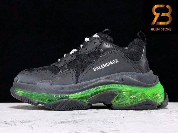 giày balenciaga triple s clear sole black yellow fluo pk god ở hcm