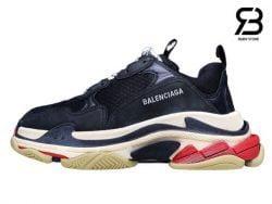 giày balenciaga triple s đen đỏ siêu cấp