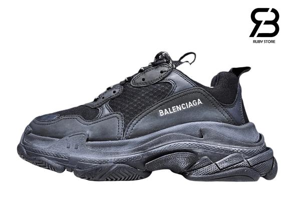 giày balenciaga triple s đen full siêu cấp