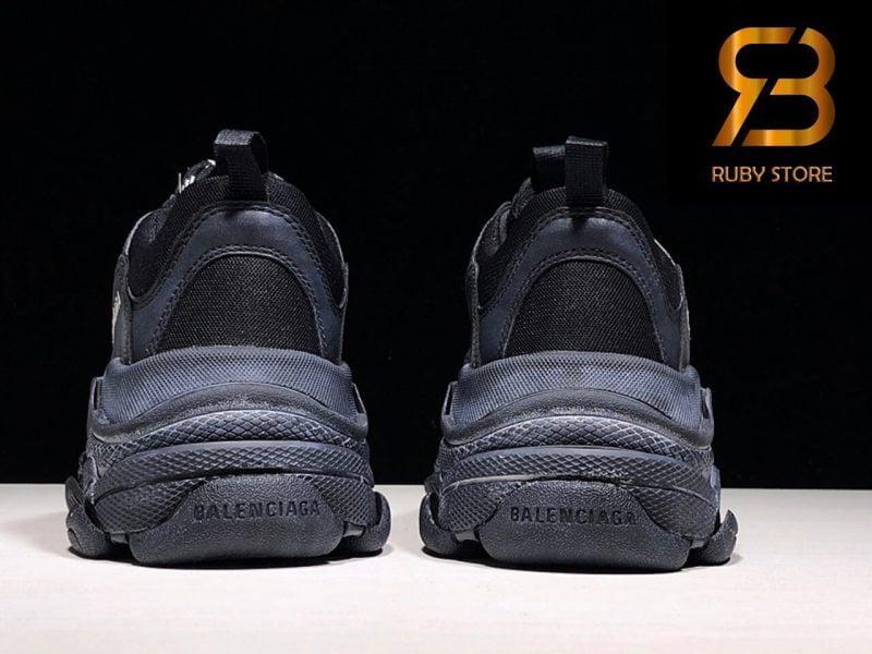 giày balenciaga triple s black replica 1:1 siêu cấp