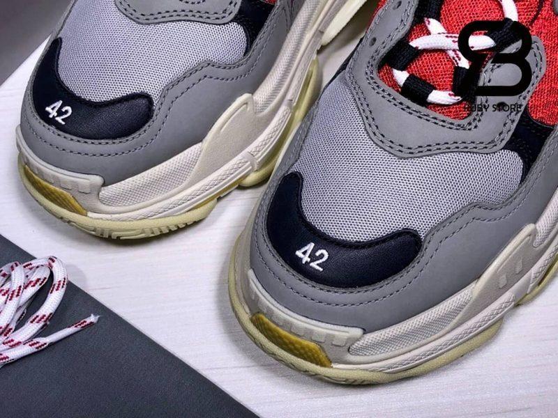 giày balenciaga triple s blue red replica 1:1 siêu cấp
