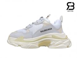 giày balenciaga triple s trắng full siêu cấp