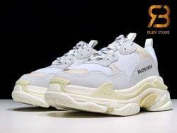 giày balenciaga triple s white replica 1:1 siêu cấp