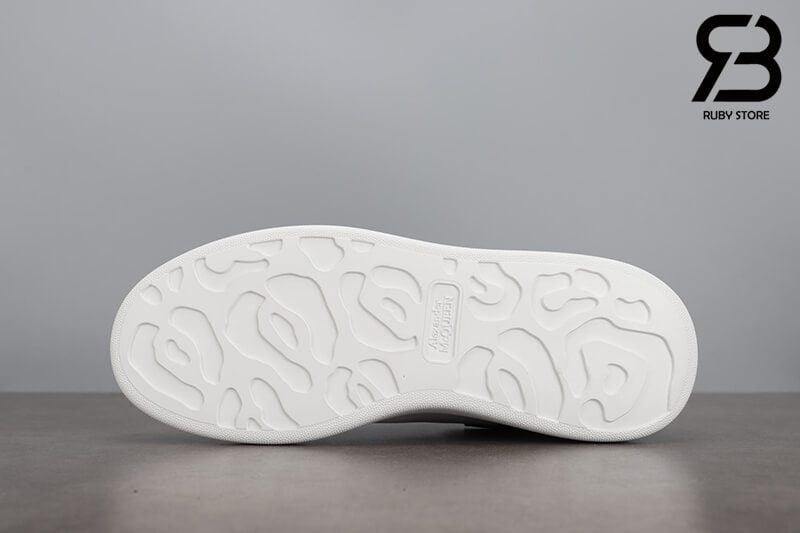 giày alexander mcqueen gót đen da siêu cấp like authentic