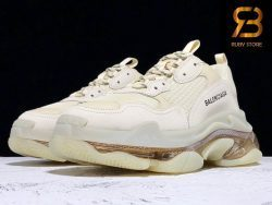 giày balenciaga triple s clear sole crystal replica 1:1 siêu cấp