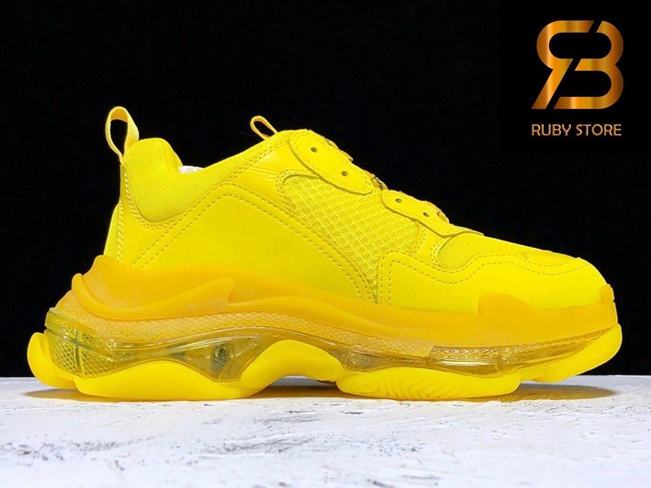 giày balenciaga triple s clear sole yellow pk god siêu cấp ở hcm
