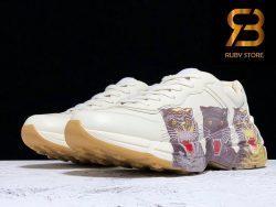giày gucci rhyton leather sneaker with tigers replica 1:1 siêu cấp ở hồ chí minh
