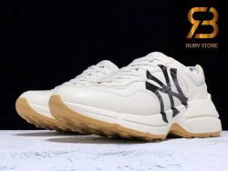 giày gucci rhyton ny yankees leather sneakers cao cấp ở hồ chí minh