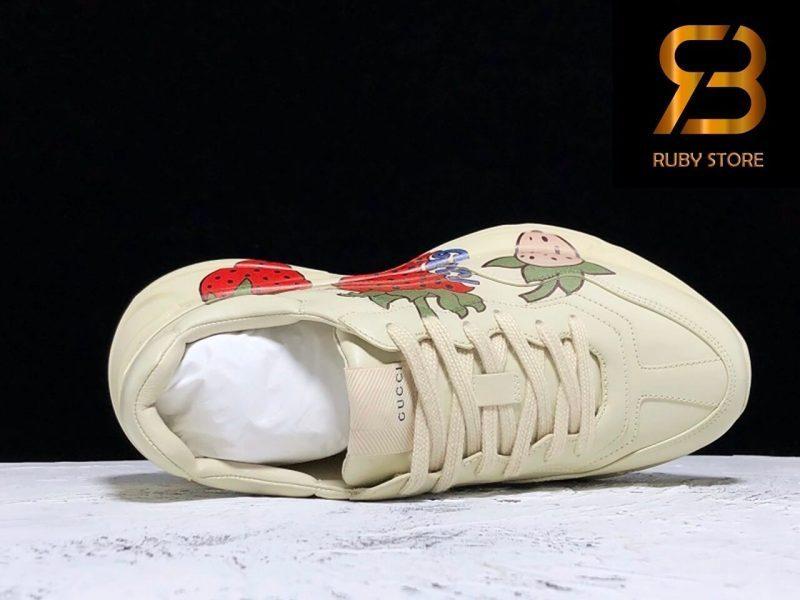 giày gucci rhyton strawberry siêu cấp 99,9% ở hồ chí minh