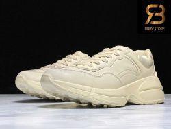giày gucci rhyton trơn bẩn siêu cấp ở hcm