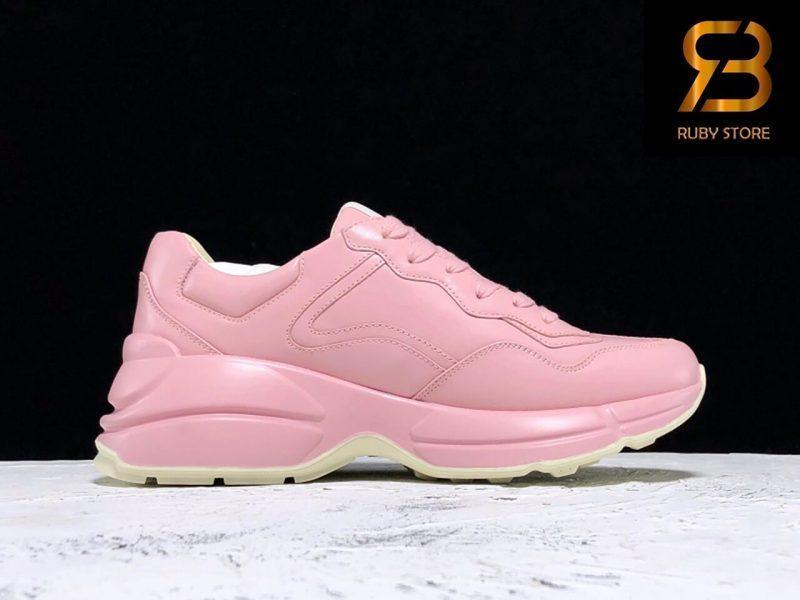 giày gucci rhyton with mystic cat pink siêu cấp ở hcm