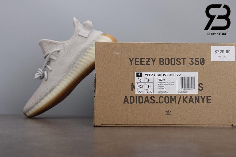 giày adidas yeezy boost 350v2 sesame pk god siêu cấp