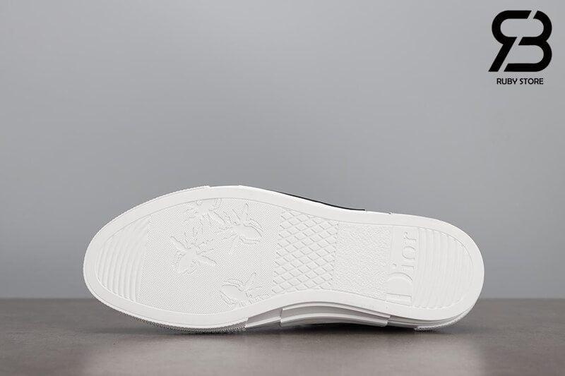 giày dior b23 high top canvas with daniel arsham motif siêu cấp