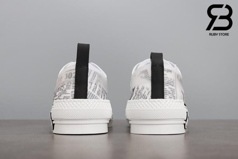 giày dior b23 low top canvas with daniel arsham motif siêu cấp