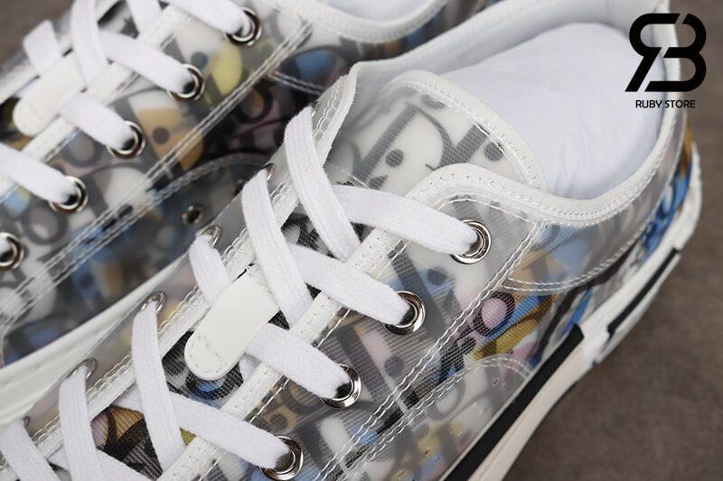 giày dior b23 low top oblique canvas alex foxton motif multicolor siêu cấp