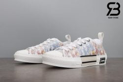 giày dior b23 low top oblique canvas multicolor siêu cấp