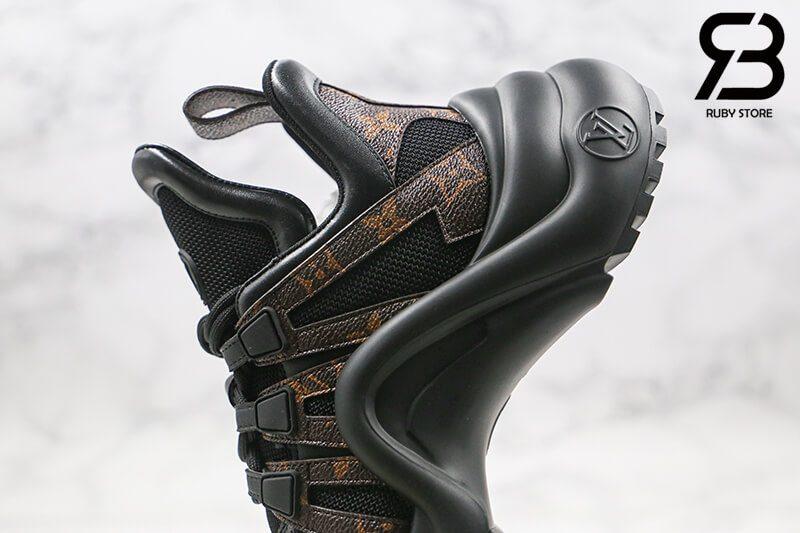 giày lv archlight sneaker black siêu cấp