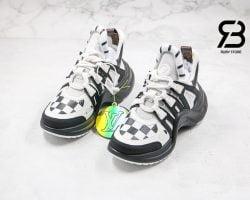 giày lv archlight sneaker black white siêu cấp