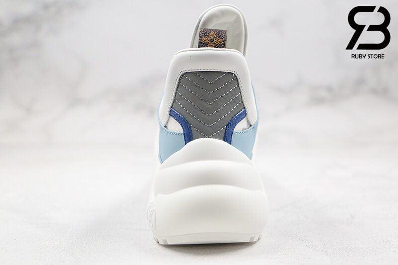 giày lv archlight sneaker blue siêu cấp