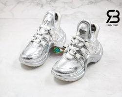 giày lv archlight sneaker silver siêu cấp