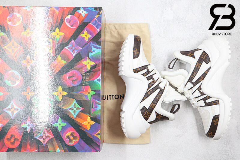 giày lv archlight sneaker white siêu cấp