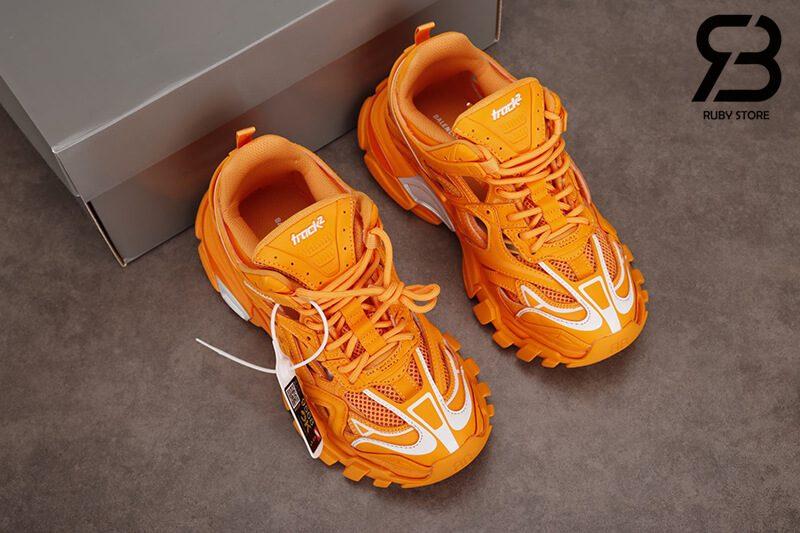 giày balenciaga track 2 orange siêu cấp