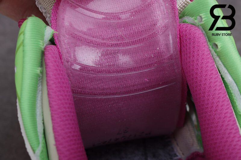 giày balenciaga track 2 pink green siêu cấp