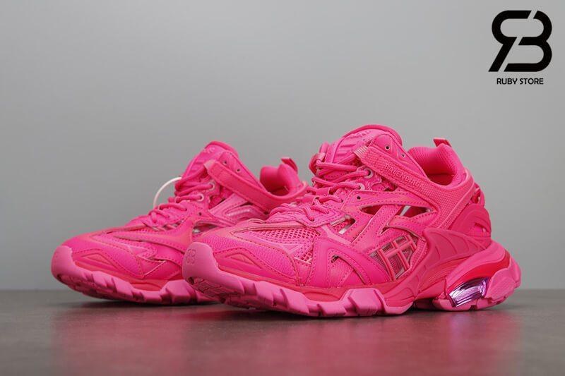 giày balenciaga track 2 pink siêu cấp