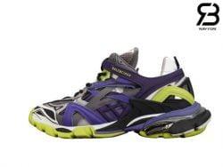 giày balenciaga track 2 purple green siêu cấp