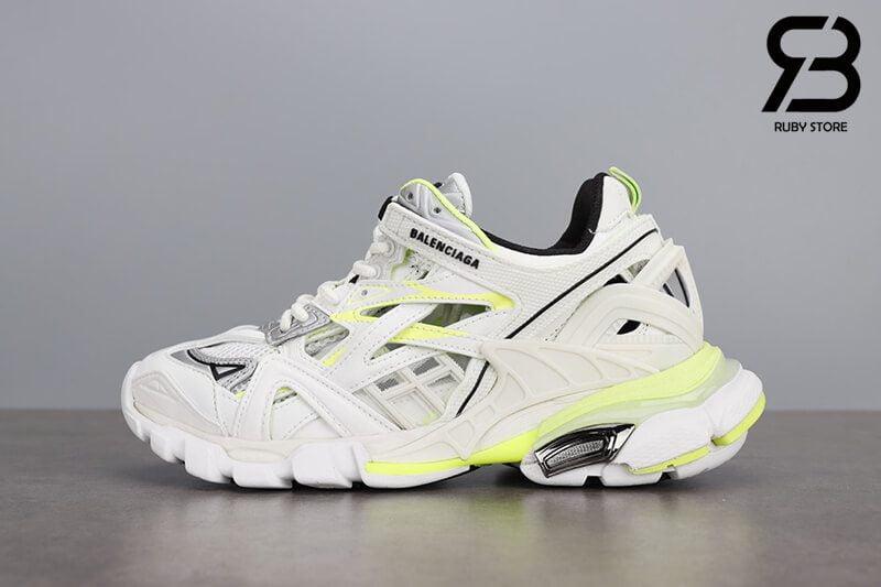 giày balenciaga track 2 white green siêu cấp