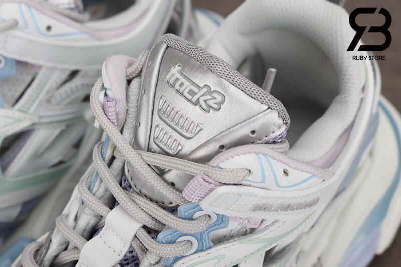 giày balenciaga track 2 white pink siêu cấp