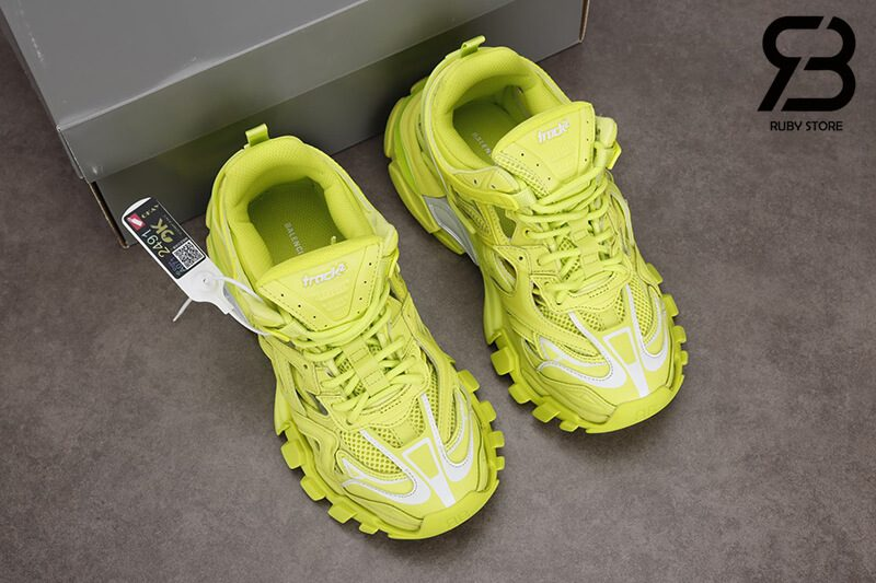 giày balenciaga track 2 yellow siêu cấp