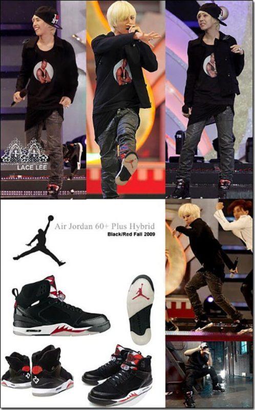 Giày Air Jordan - Giày G-Dragon yêu thích nhất