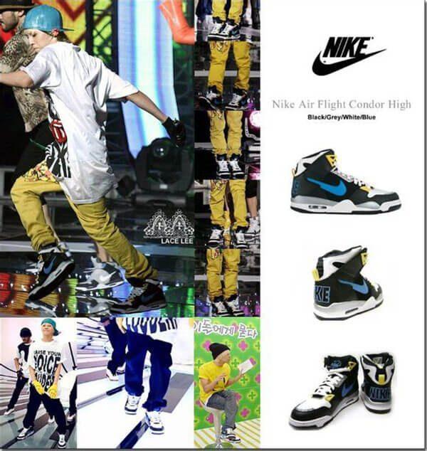 Giày Nike - Giày G-Dragon yêu thích nhất