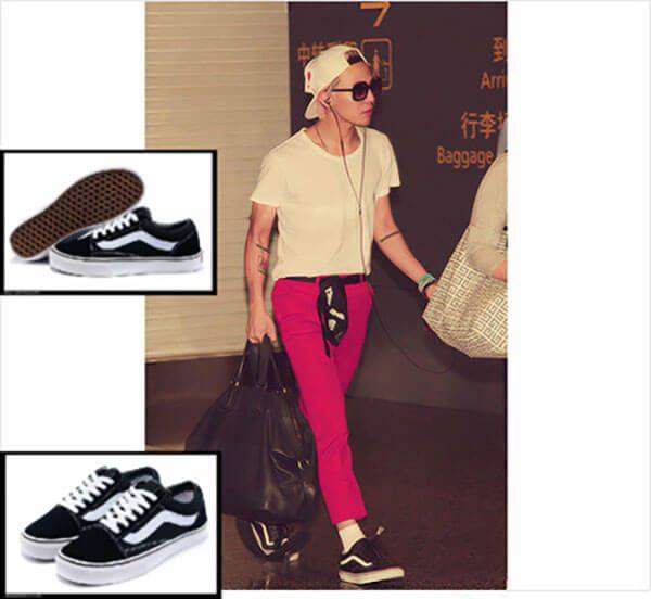 Giày Vans cổ điển - đôi giày G-Dragon yêu thích