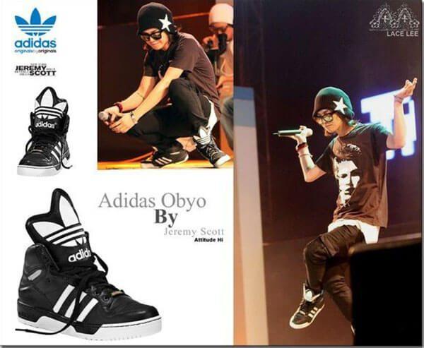 Giày Adidas - Giày G-Dragon yêu thích nhất