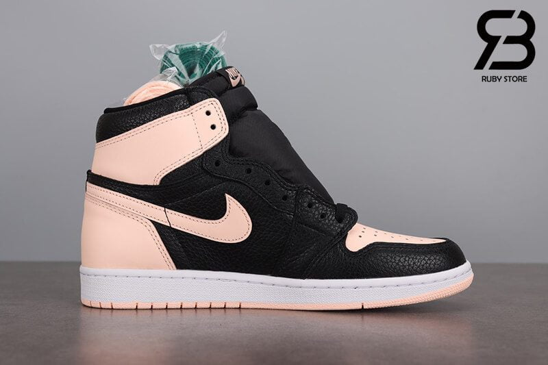 giày nike air jordan 1 high og retro black crimson tint siêu cấp