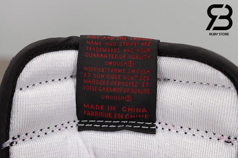 giày nike air jordan 1 high og retro black varsity red siêu cấp