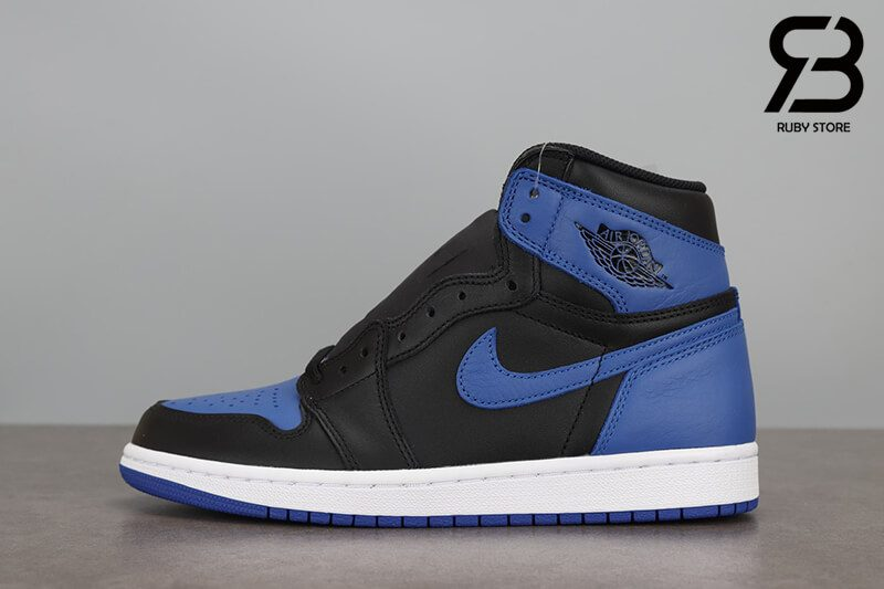 giày nike air jordan 1 high og retro royal black blue siêu cấp