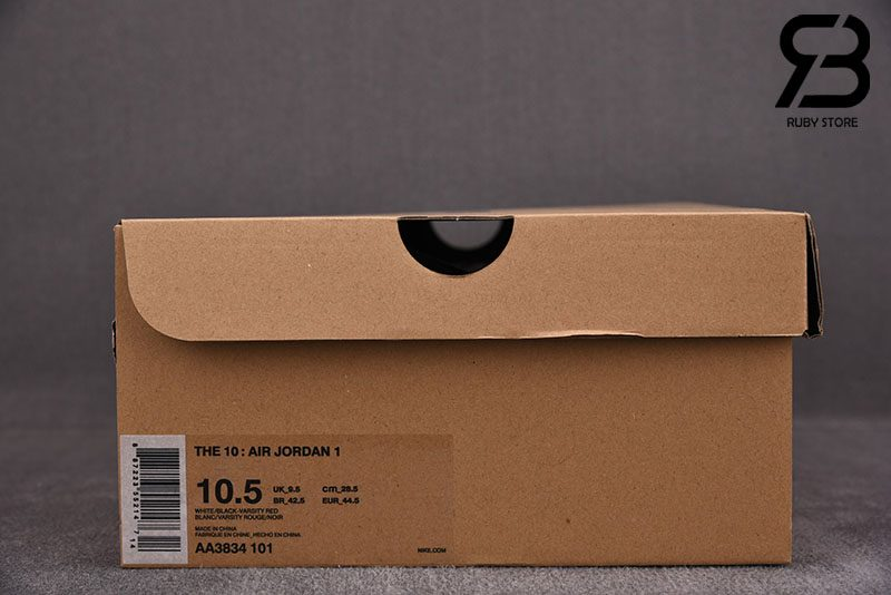 giày nike air jordan 1 off white chicago siêu cấp