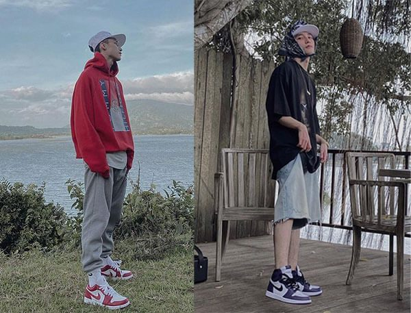 Giày Jordan 1 của Sơn Tùng MTP