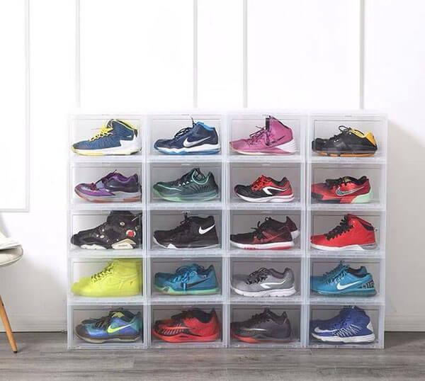 Hộp đựng giày nhựa trong suốt