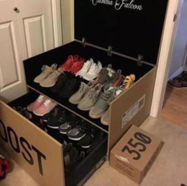 Tủ giày có ngăn kéo