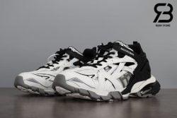 giày balenciaga track 2 black white siêu cấp