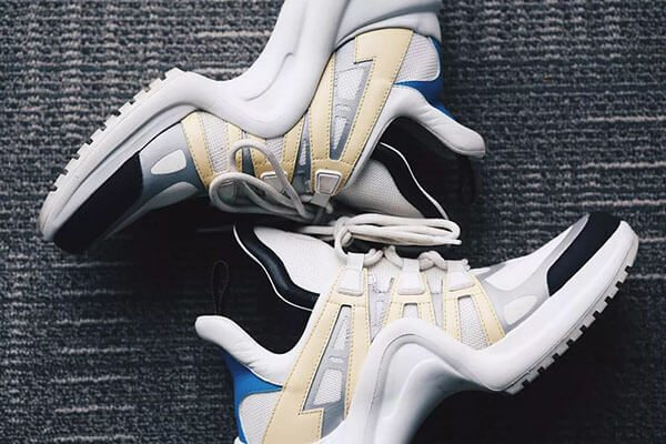 Tổng thể đôi giày LV Archlight chính hãng