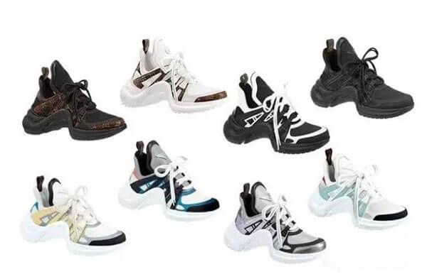 Giày Louis Vuitton Archlight có những màu gì?
