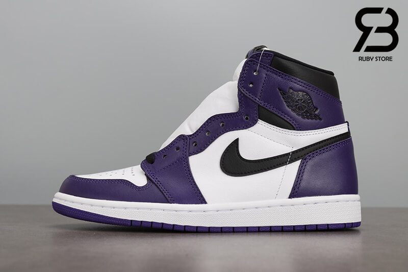 giày nike air jordan 1 high og court purple siêu cấp