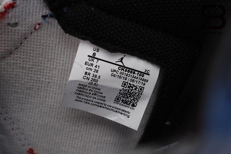 giày nike air jordan 1 high og fearless siêu cấp